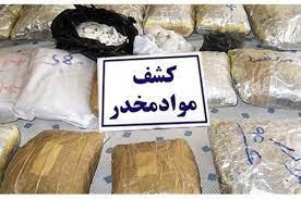 کشف دپوی ۳۸۸ کیلو مواد مخدر از یک منزل در کرمان