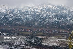 احتمال وقوع بارش برف در مازندران