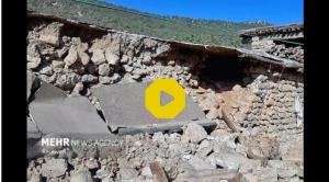 چادرنشینی زلزله زدگان«کوهرنگ» در هوای سرد