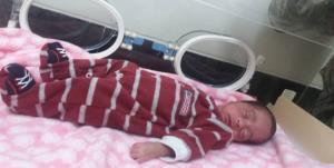 تولد نوزاد نارس ۹۰۰ گرمی در قشم