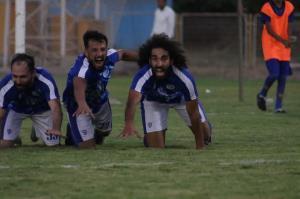 خوشحالی بعد از گل مهاجم سابق پرسپولیس به سبک گومیس در بازی لیگ دسته یک!