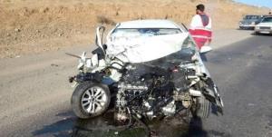 برخورد ۲ خودروی سواری در نطنز با ۷ کشته و مصدوم