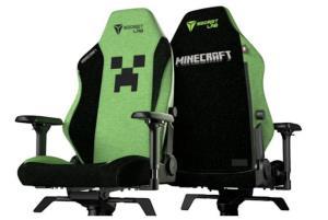 صندلی گیمینگ Minecraft به صورت رسمی عرضه شد