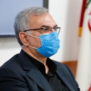 وزیر بهداشت: بابت کرونا و پیک ششم آسوده خاطر نیستیم