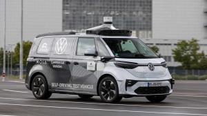 تصاویری از خودروی خودران و هوشمند «فولکس واگن»
