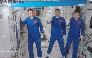 کنسرت چینیها در فضا!
