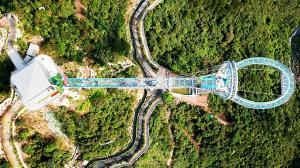 تفریحات دلهره آور در چین
