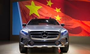حضور پررنگ مرسدس در بازار خودروی چین