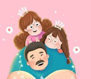 یک پدر تمام عیار برای دخترتان باشید