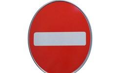 رانندگان کرمانشاهی تابلو ورود ممنوع را نمی بینند