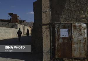 نمایی از مناطق زلزله زده یزدانشهر