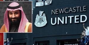 اعتراض به حضور سعودیها در نیوکاسل