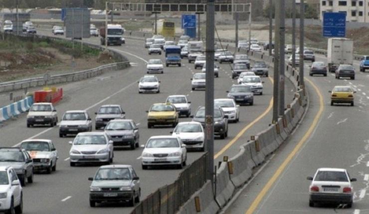 وضعیت جادهها و راهها، امروز ۲۵ مهر ۱۴۰۰