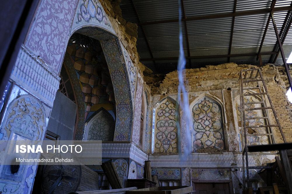 تخریب حمام تاریخی دوره قاجاریه در شیراز