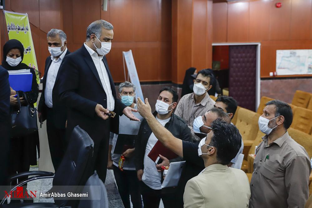 رئیس کل دادگاه عمومی و انقلاب تهران پای صحبت مردم نشست