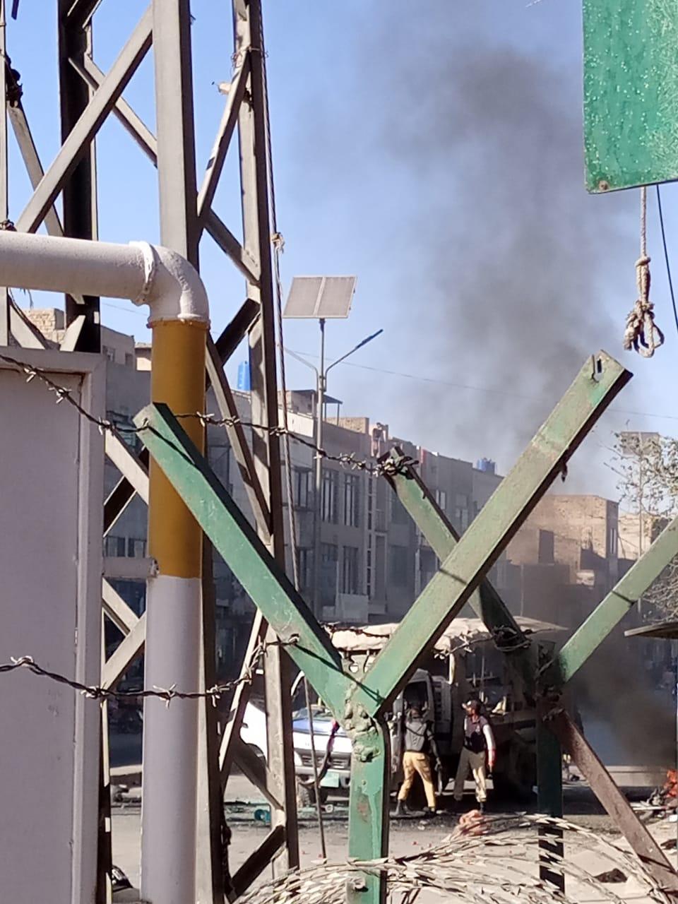 عکس/ انفجار تروریستی در کویته پاکستان