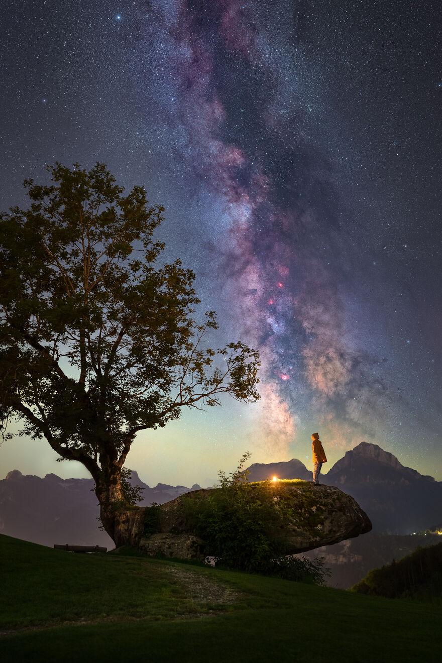 جادوی آسمان شب