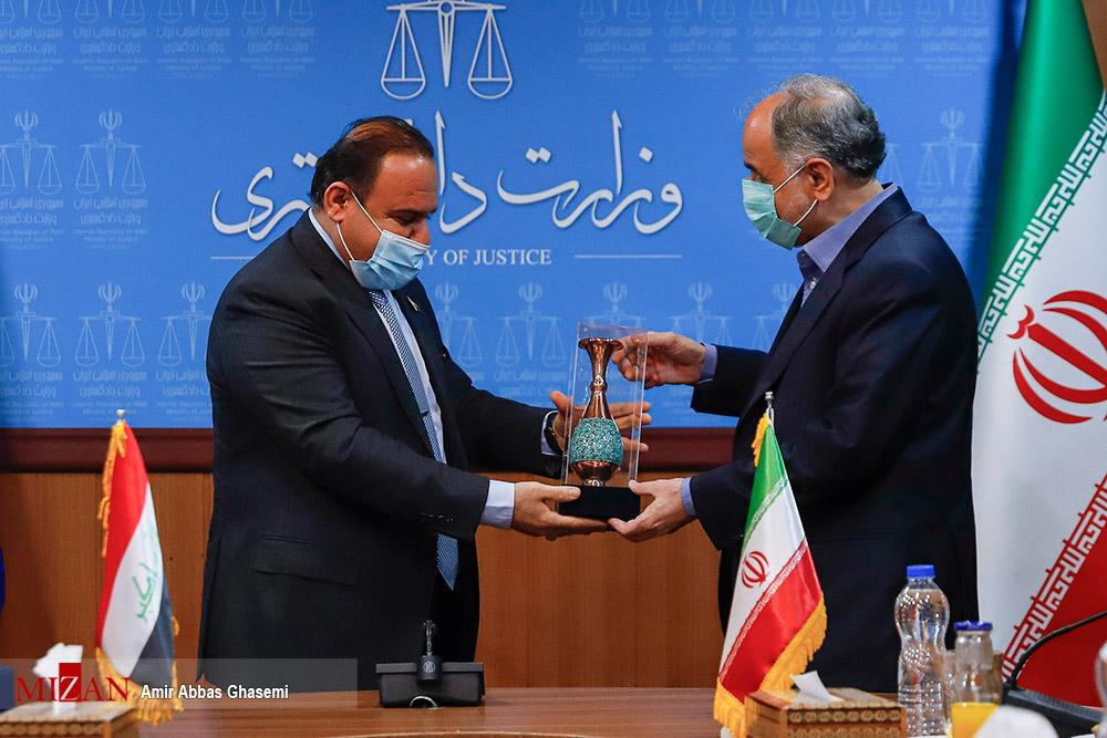 دیدار وزرای دادگستری ایران و عراق