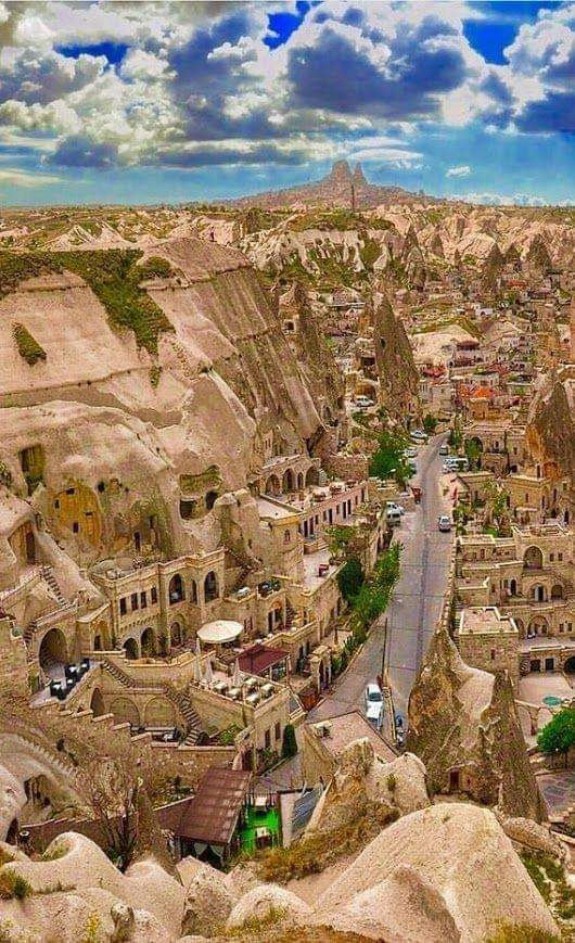 شهر کاملا سنگی در ترکیه