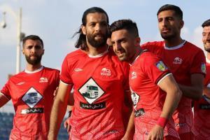 تمرین تیم فوتبال تراکتور در تبریز