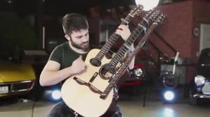 اجرای حرفه ای گیتار از نوازنده معروف یوتیوب