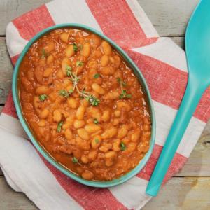 «خوراک لوبیا چیتی» عصرانه پاییزی گرم