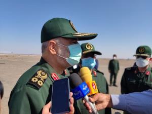 فرمانده سپاه در بم: به آینده امیدوار هستیم