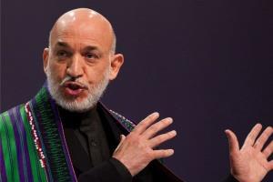 کرزی راه را به طالبان نشان داد
