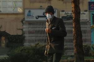 شاخص کیفیت هوای اراک و ساوه در شرایط هشدار