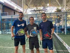رقابت تنیس مهدویکیا با ستارههای استقلالی