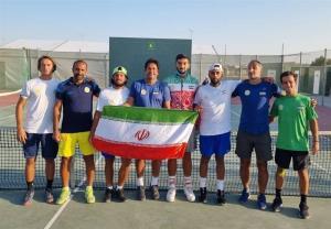 پیروزی تیم تنیس ایران در گام نخست