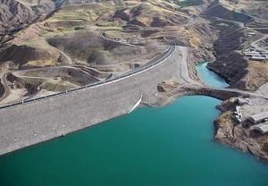 آب سدهای طالقان و کرج ۵۰ درصد کاهش پیدا کرده است