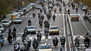 نیمی از موتورسواران گواهینامه ندارند!