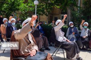 تجمع روحانیون البرز در محکومیت کشتار مردم افغانستان برگزار شد