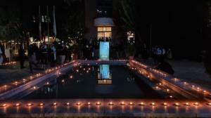 شمعهایی که برای مهرداد روشن شد
