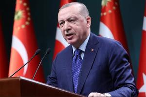 اردوغان: نباید سرنوشت بشریت را به کشورهای پیروز در جنگجهانی دوم داد