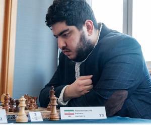 تیم مقصودلو در لیگ شطرنج اسپانیا قهرمان شد