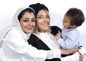 تصاویر کودکی ساره بیات و خانواده رضا قوچان نژاد