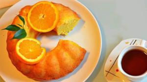 آموزش پخت کیک پرتقالی