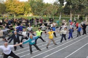 ۶۰ درصد تهرانیها ورزش نمیکنند