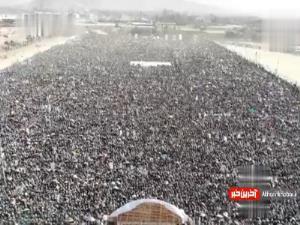 تجمع باشکوه مردم یمن به مناسبت ولادت پیامبر رحمت