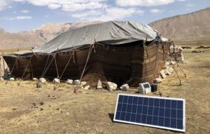 ۳۰۰ پنل خورشیدی برای عشایر گلستان تامین شد