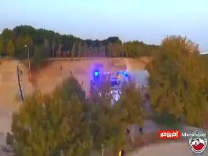ویدیویی جذاب از مبارزه جنگجویان ووشو در کنار دریاچه آزادی