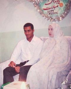 تصویری از مراسم عروسی پیمان و لیلا رجبی