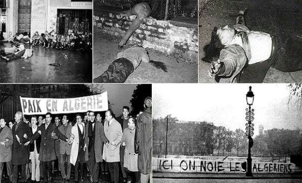 اعتراف مکرون به کشتار سال 1961 معترضان الجزایری در پاریس