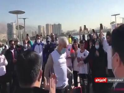 ماشاالله وزیر ورزش!
