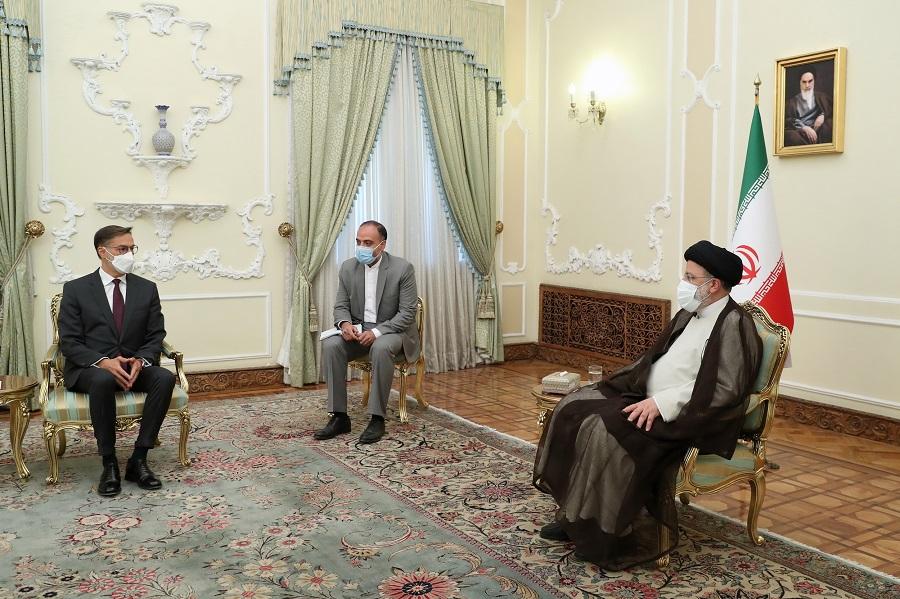عکس/ دیدار وزیر خارجه ونزوئلا با سید ابراهیم رئیسی