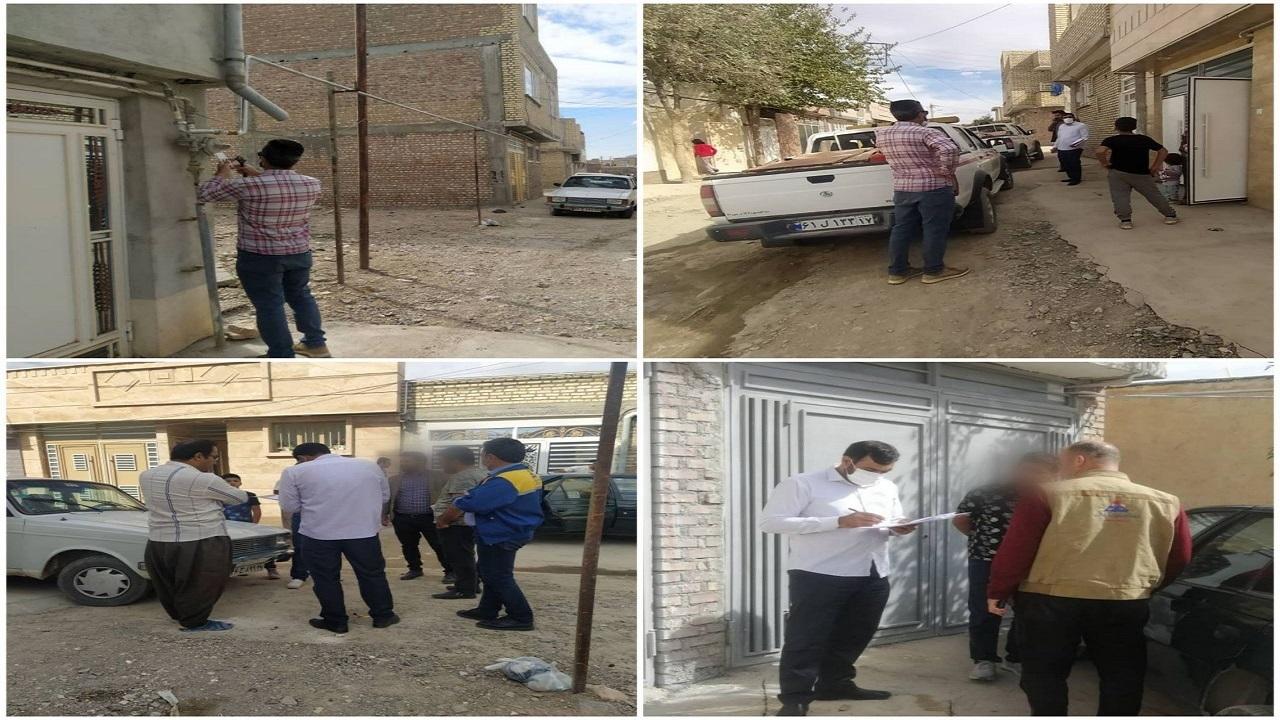 گاز ۷۰ مصرف کننده در بوکان قطع و پلمب شد