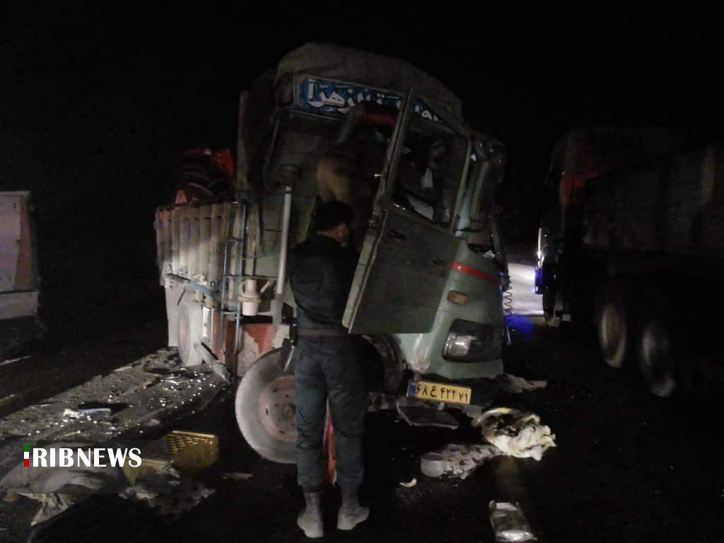 یک کشته در اثر برخورد نیسان با خاور در محور بوئین میاندشت به الیگودرز