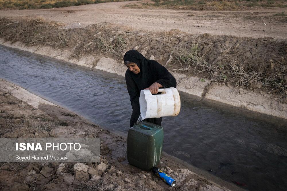 عکس/ بحران آب در روستاهای شهرستان «کرخه»